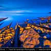 Eastern Europe - Bulgaria - България - Burgas Province - Sinemorets - Sinemorec - Sinemoretz - Синеморец - Seaside summer resort on the southern Bulgarian Black Sea Coast - Place on the blue sea where the river Veleka flows into the sea
