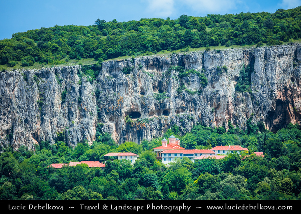 "Eastern Europe - Bulgaria - България - Patriarchal Monastery ""Holy Trinity"" - Патриаршески манастир ""Света Троица"" - Patriarsheski manastir ""Sveta Troitsa"" - Bulgarian Orthodox monastery founded in Middle Ages"