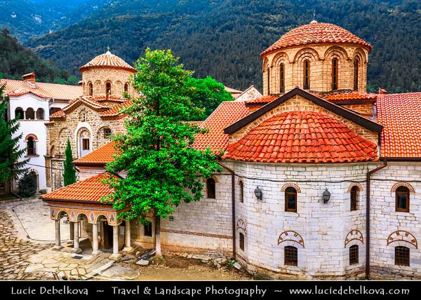 Eastern Europe - Bulgaria - България - Bachkovo Monastery - Бачковски манастир - Bachkovski manastir - One of largest and oldest Eastern Orthodox monasteries in Europe