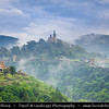 Eastern Europe - Bulgaria - България - Veliko Tarnovo - Велико Търново - Great Tarnovo - City of the Tsars - Former historical capital along meanders of Yantra River - Tsarevets - Царевец - Medieval stronghold located on hill with fortress housing royal and patriarchal palaces