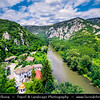 Eastern Europe - Bulgaria - България - Vrachanski Balkan Karst Nature Park - Cherepish Monastery Assumption of Virgin Mary along Iskar River