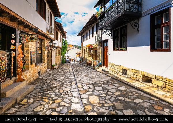 Eastern Europe - Bulgaria - България - Veliko Tarnovo - Велико Търново - Great Tarnovo - City of the Tsars - Former historical capital along meanders of Yantra River