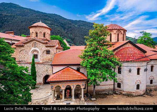Eastern Europe - Bulgaria - България - Bachkovo Monastery - Бачковски манастир - Bachkovski manastir - One of largest and oldest Eastern Orthodox monasteries in Europe