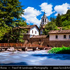 Eastern Europe - Bulgaria - България - Dryanovo Monastery - Дряновски манастир - Dryanovski manastir - Functioning Bulgarian Orthodox monastery situated in Andaka River Valley in Bulgarka Nature Park