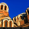 Eastern Europe - Bulgaria - България - Sofia - София - Capital & largest city of Bulgaria - Sveti Sedmochislenitsi Church - църква Свети Седмочисленици - Bulgarian Orthodox Church named after Cyril and Methodius and their five disciples