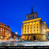 Eastern Europe - Bulgaria - България - Sofia - София - Capital & largest city of Bulgaria - National Assembly of Bulgaria - Classicistic monumentally presidential palace - Dusk - Twilight - Blue Hour