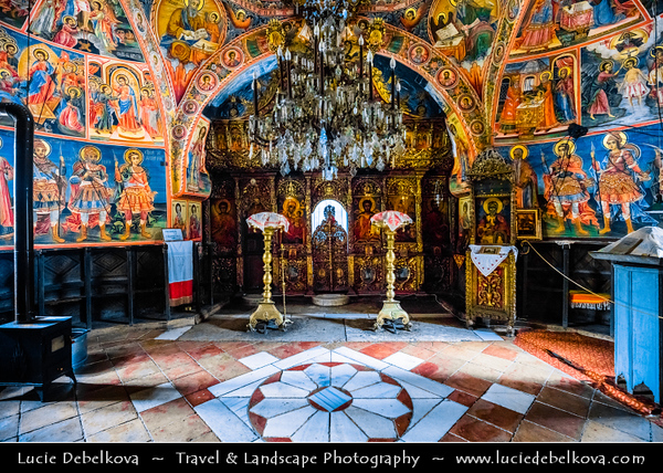 "Eastern Europe - Bulgaria - България - Transfiguration Monastery ""St. Transfiguration"" - Biggest monastery in Veliko Turnovo region and the fourth in Bulgaria - Eastern Orthodox monastery located in Dervent gorge of Yantra River"
