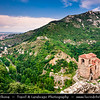 Eastern Europe - Bulgaria - България - Asenovgrad fortress - Asen's Fortress - Medieval fortress on high rocky ridge on bank of Asenitsa River in Bulgarian Rhodope Mountains