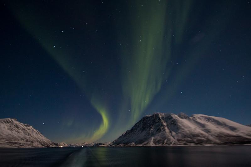 Aurora near Skjervøy