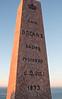 King Oscar II Monument, Nordkapp