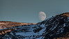 Moon over Hammerfest