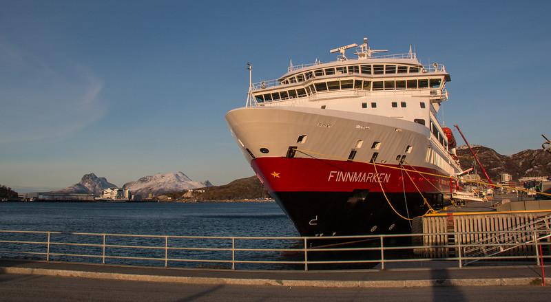 MS Finnmarken at Bodø