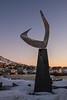 Boreas Sculpture by Erling Saatvedt