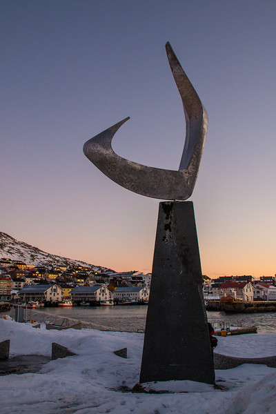 Boreas Sculpture by Erling Saatvedt