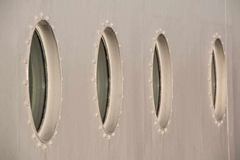 Four portholes