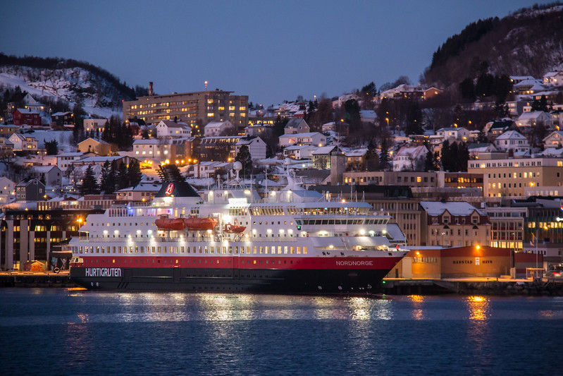 MS Nordnorge at Harstad