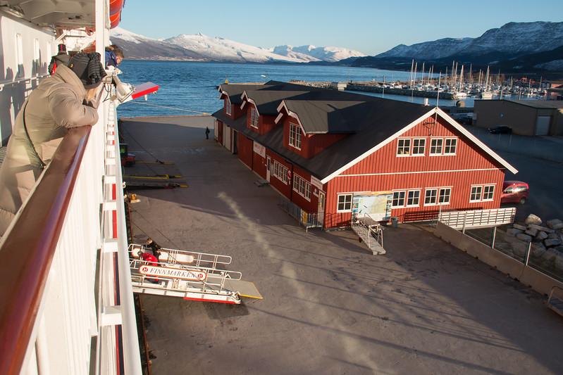 MS Finnmarken at Nesna