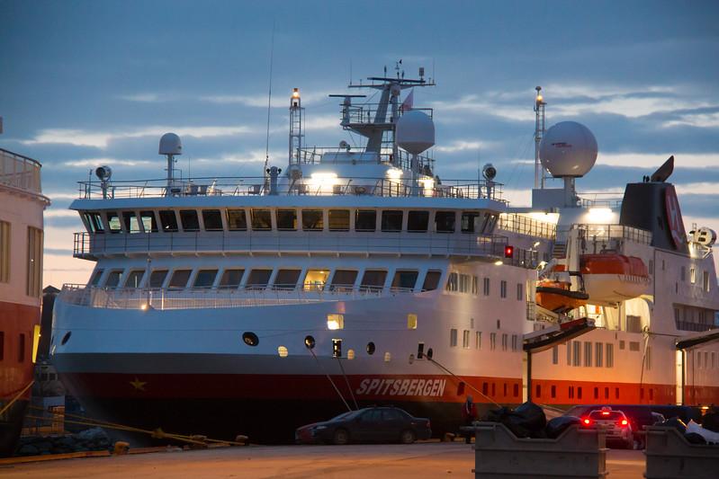MS Spitsbergen at Trondheim