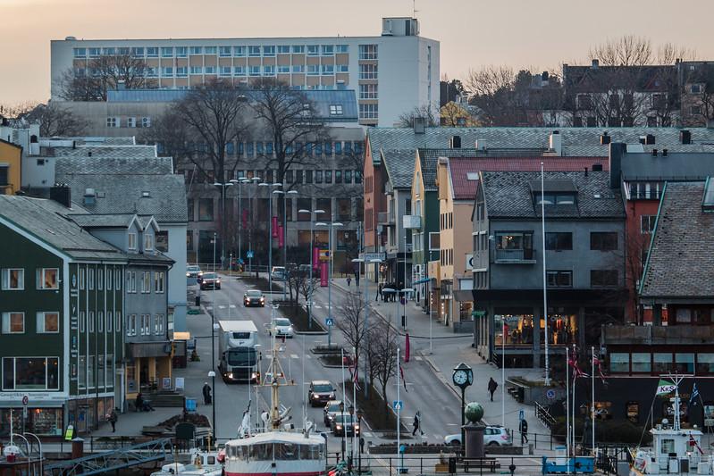 Kristiansund shopping area