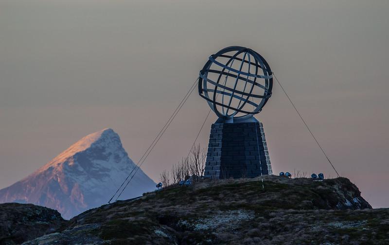Leaving the Arctic Circle - The Globe on Vikingen