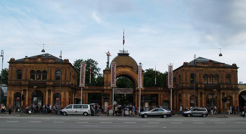 Another entrance to Tivoli Gardens