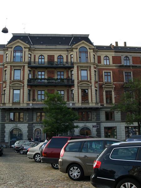 Typical Copenhagen apartment building
