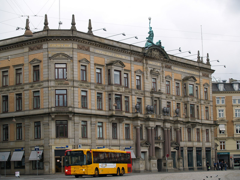 Privatbanken building, King's Square, built in 1857