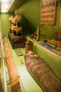 Egyptian mummy collection was beautifully preserved, better than those in Egypt.