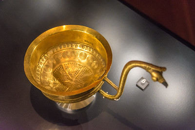 Gold cup in the Danish National Museum