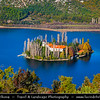 Europe - Croatia - Hrvatska - Central Dalmatia - Krka National Park - Visovac Monastery - Samostan Visovac - Catholic monastery on the island of Visovac