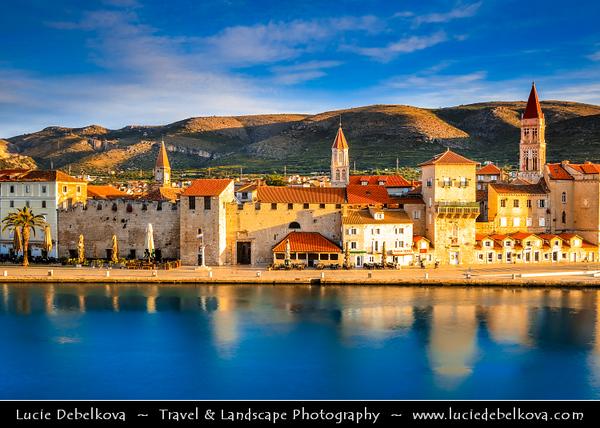 Europe - Croatia - Hrvatska - Dalmatia - Trogir - Tragurium - Trogkir - UNESCO World Heritage Site - Traù - Trau - Historic town & harbour on the Adriatic coast in Split-Dalmatia County