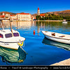 Europe - Croatia - Hrvatska - Dalmatia - Trogir - Tragurium - Trogkir - UNESCO World Heritage Site - Traù - Trau - Historic town & harbour on Adriatic coast in Split-Dalmatia County