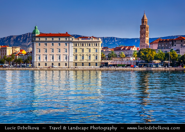 Europe - Croatia - Hrvatska - Split - UNESCO World Heritage Site - Mediterranean city on eastern shores of the Adriatic Sea, centred around ancient Roman Palace of Emperor Diocletian