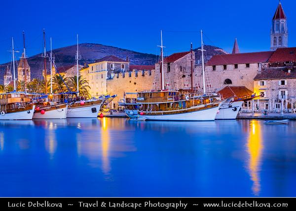 Europe - Croatia - Hrvatska - Dalmatia - Trogir - Tragurium - Trogkir - UNESCO World Heritage Site - Traù - Trau - Historic town & harbour on Adriatic coast in Split-Dalmatia County