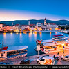 Europe - Croatia - Hrvatska - Dalmatia - Trogir - Tragurium - Trogkir - UNESCO World Heritage Site - Traù - Trau - Historic town & harbour on the Adriatic coast in Split-Dalmatia County