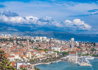 Split: a most remarkable city, founded in the 3rd Century and home to Diocletian's Palace