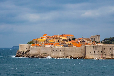 """Dubrovnik, """"the gem of the Adriatic"""" is a walled city loaded with tourists"""