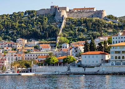 The Fortress in Hvar overlooks the City.
