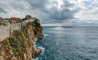 Wall Along the Coast