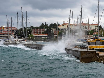 and storms...this one on Korcula