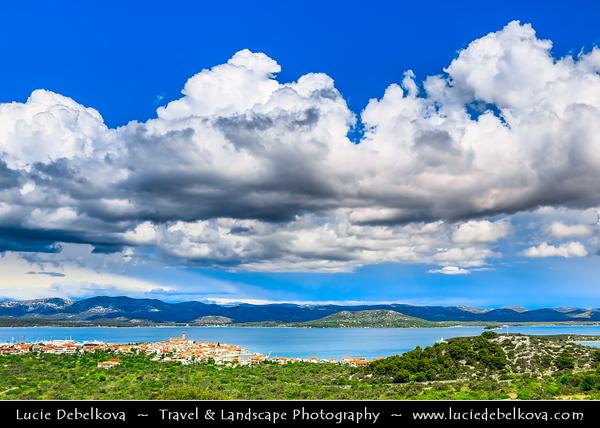 Europe - Croatia - Hrvatska - Central Dalmatia - Adriatic Coast - Murter Island on Adriatic Sea Coast