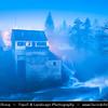Europe - Croatia - Hrvatska - Slunj - Rastoke - Historic center with well-preserved mills & picturesque little waterfalls along Slunjcica river which flows into river Korana