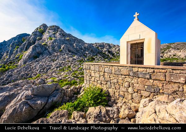 Europe - Croatia - Hrvatska - Dalmatia - Velebit mountain national park - Tulove Grede - Tulo - Tulovice - Unique karst rock formation with its highest peak 1,120 m above sea level