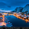 Europe - Croatia - Hrvatska - Central Dalmatia - Omiš - Harbour town situated in mouth of Cetina river surrounded with massive gorges - One of the most beautiful parts of Croatia's Adriatic Coast