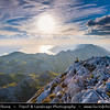 Europe - Croatia - Hrvatska - Central Dalmatia - Adriatic Coast - Makarska Rivijera - Biokovo Nature Park - Second-highest mountain range in Croatia with its highest peak - Sveti Jure (Saint George) 1762 m.a.s.l.