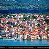Europe - Croatia - Hrvatska - Central Dalmatia - Pirovac - Historical old town situated on Adriatic Sea Coast