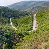 Rail journey from Split to Perkovic