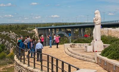 Stop at the Sibenik Bridge, Croatia