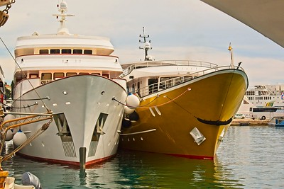 MV Arca, Split, Croatia