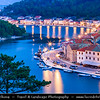 Europe - Croatia - Hrvatska - Dalmatia - Novigrad - Pittoresque town with ancient castle on shores of the Novigradsko More